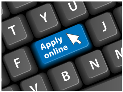 """APPLY ONLINE"" Key on Keyboard (application jobs now web button)"